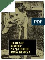 Eduardo Umaña Mendoza - Fanzine Lugares de Memoria
