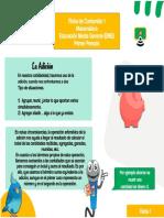 Fichas de Contenido Guía I Periodo I