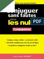 Conjuguer Sans Fautes Pour Les Nuls by Jean-Joseph Julaud [Julaud, Jean-Joseph] (Z-lib.org).Epub