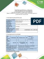 Guía de actividades y rúbrica de evaluación - Paso 4 - Explorar el uso de vectores virales en terapia génica y protocolos de vacunación