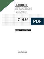 T-8M Machine Instruction Manual