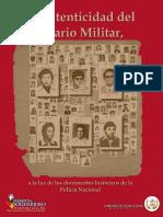 Autenticidad Diario Militar 2009