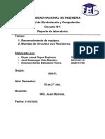 Reporte de circuito con tabla de nodo pdf