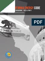 California Energy Code - 2019