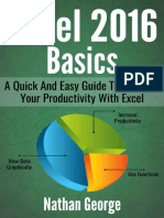 [George Nathan] Excel 2016 Basics - A Quick And Easy Guide To Boosting Your Productivity With Excel (2017).pdf