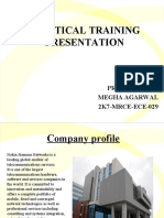 Practical Training Ppt