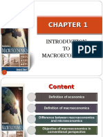 Introduction to Macroeconomic