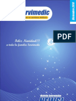 Boletín Servimedic News diciembre 2010