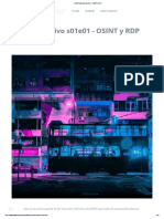 OSINT ofensivo s01e01 - OSINT y RDP