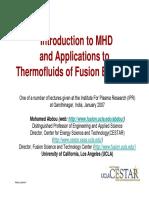 Lecture4-MHDandThermofluids-1-3-07