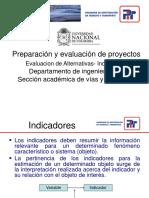 Presentación 4- Evaluación de Alternativas-Indicadores