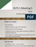 IELTS 1 Meeting 5 Mar 2020