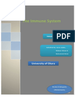 The IMMUNE System Assgn1