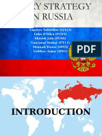 Entry strategy in Russia.ppt