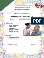 Diálisis peritoneal tarea