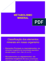 Metabolismo Mineral (Bioq Aplicada)