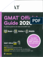 GMAT Official Guide 2020 PDF