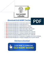 Old NCERT PDF for IAS UPSC Exams