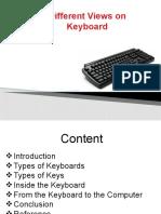 Keyboard ppt _ Nilendu Sarkar
