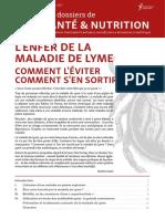 DossierSanteNutrition  L Enfer de La Maladie de Lyme SD Cy