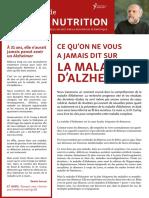 DossierSanteNutrition  Ce Qu on Ne Vous a Jamais Dit Sur La Maladie d Alzheimer SD Of
