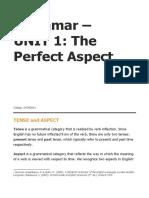 a. Unit 1 Grammar_Perfect Aspect_Theory