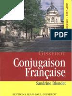 (Gisserot-éducation) Blondet, Sandrine - Conjugaison française-J.-P. Gisserot (2001).pdf
