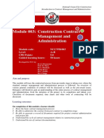 003 Training Manual Introduction to Contract Management and Administration
