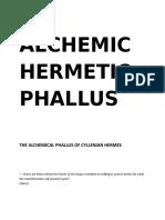 The Alchemic Hermetic Phallus