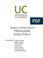 TRABAJO PRÃ_CTICO N°1 EVOLUTIVA II