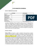 Minuta contrato PPA suministro de energia
