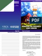CARTILHA INCA - DIREITOS DO PACIENTE COM CÂNCER