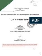 Un Niveau Seuil_extract_Daniel Coste