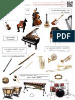 6.2 instruments et familles