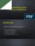 RECONSTRUCCION FALICA COMPLETA PPT