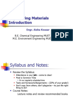 Introduction to Engineering Materials --15 batch.ppt