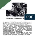 ContaMinata  - Mina vestita di jazz