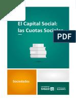 El capital social las cuotas sociales