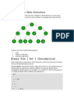Binary Tree Data Structure