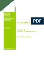 Altri - Relatório e Contas 2015