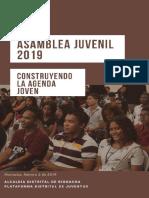 agenda juvenil 2019
