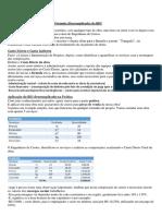 4.1 - Exemplo de cálculo de BDI (1)