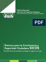 Cartilla Sistema para la Conviencia y Seguridad Ciudadana SICOS
