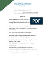 HIPNOSIS PARA DEJAR DE FUMAR PROTOCOLO MIGUEL MARSET