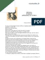 ethique spinoza  cours 1