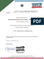 CONSTANCIA DE CERTIFICACION - CARLOS SALINAS SOTO