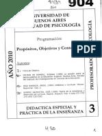 Modulo 3. Propositos, objetivos y contenidos