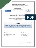 Etude des capacités et perspéctives de production d'énergie électrique en algérie..pdf