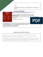 Experimental Study of Aerosol Filtration_pap