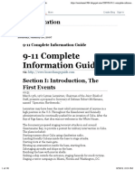 9/11 Complete Info Guide to Events of 9/11